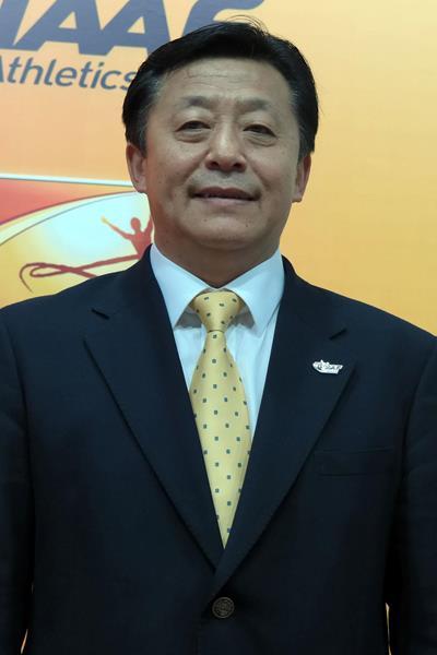 IAAF Council Member, Zhaocai Du (CHN) (IAAF)