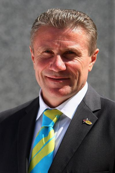 Sergey Bubka - IAAF Vice President (Getty Images)
