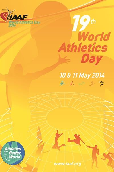 2014 World Athletics Day poster (IAAF)