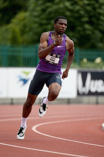 Ameer Webb during the 2015 US Outdoor Championships ()
