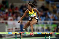 Rio 2016 Olympic Games women 400m hurdles heats