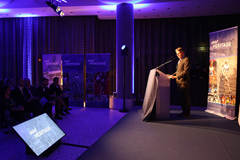 IAAF President Sebastian Coe at the IAAF Heritage reception in Monaco (Giancarlo Colombo)