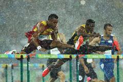 Rio 2016 men 110m hurdles heats
