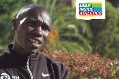 Geoffrey Kamworor on IAAF Inside Athletics (IAAF)