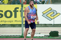 Pawel Fajdek, winner of the hammer in Turku (AFP / Getty Images)