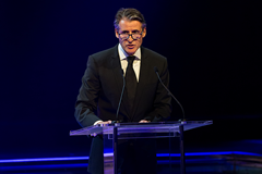 IAAF President Sebastian Coe at the IAAF Athletics Awards 2016 (Philippe Fitte / IAAF)