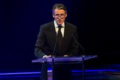 IAAF President Sebastian Coe at the IAAF Athletics Awards 2016 (Philippe Fitte / IAAF)