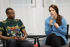 Mutaz Barshim and Ekaterini Stefanidi in Monaco (Philippe Fitte)