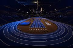 Arena Birmingham, venue for the IAAF World Indoor Championships Birmingham 2018 (LOC)