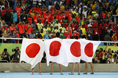 Japan 4x100m Relay 2016 Silver ()