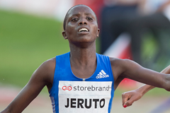 Kenyan distance runner Norah Jeruto Tanui (AFP / Getty Images)