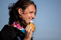 Maite Beernaert, winner of the long jump at the Buenos Aires 2018 Youth Olympics Games (OIS/IOC)