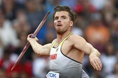 Rico Freimuth in the decathlon javelin at the IAAF World Championships London 2017 (Getty Images)