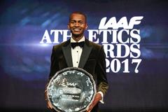 Mutaz Barshim, 2017 IAAF World Athlete of the Year (Philippe Fitte)