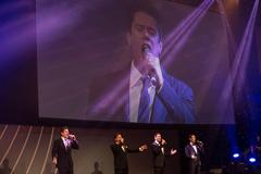 Il Divo on stage at the IAAF Centenary Gala in Barcelona (Philippe Fitte)