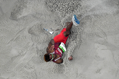 Tyrone Smith competes in the Rio Olympics (Getty Images)