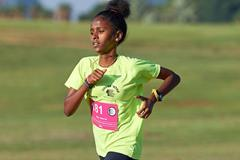 Arsema Kahsay of the Alley Runners Athletics Club (Alley Runners)