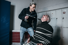 Karsten Warholm and coach Leif Olav Alnes (Karsten Warholm)