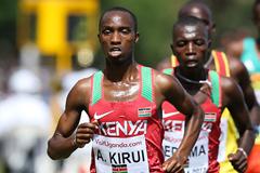 Kenyan distance runner Amos Kirui (Roger Sedres)