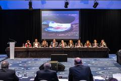The Doha 2019 IAAF World Championships bid presentation (Philippe Fitte / IAAF)