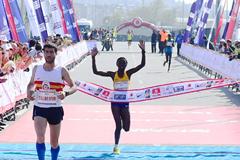 Ruth Chepngetich wins the Istanbul Half Marathon (Organisers)