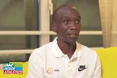 Eliud Kipchoge on IAAF Inside Athletics (IAAF)