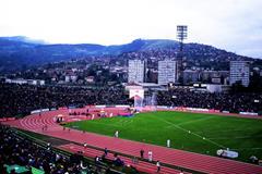 Kosevo stadium in Sarajevo (Mark Shearman)