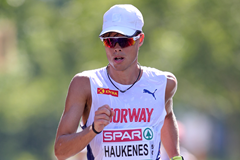 Norwegian race walker Havard Haukenes (Getty Images)