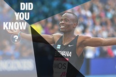 Did You Know Nijel Amos ()
