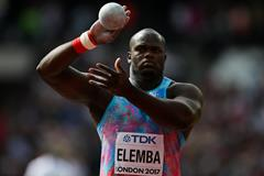 Franck Elemba competes at the 2017 IAAF World Championships (Getty Images)