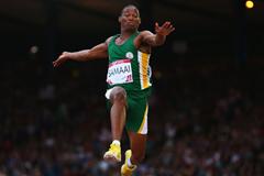 Ruswahl Samaai at the 2014 Commonwealth Games ()