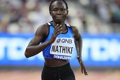 Athlete Refugee Team member Rose Lokonyen Nathike at the IAAF World Athletics Championships Doha 2019 (Getty Images)