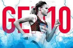 Gen 10: US hurdler Sydney McLaughlin (Getty Images)