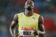 Usain Bolt wins the 200m in Ostrava (Organisers / sport-pics.cz)