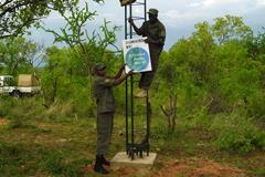 Constructing a radio repeater station in Tanzania (Big Life Foundation)