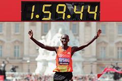 Wilson Kipsang sub 2-hour marathon ()