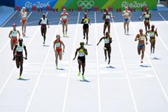 Rio 2016 Olympic Games women 4x100m heats