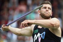 Andreas Hofmann in the javelin at the German Championships (Getty Images)