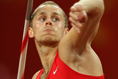 Jakub Vadlejch in the javelin at the IAAF World Championships Beijing 2015 (Getty Images)