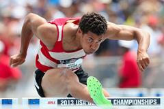 Ryan Wilson US hurdler national champion ()