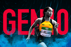 Jamaican sprinter Briana Williams (Getty Images)