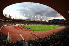 Zürich's Letzigrund stadium packed with 26,500 spectators (Getty Images)
