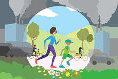 IAAF and UN Environment clean air campaign (IAAF)