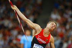 Thomas Rohler in action at the IAAF World Championships Beijing 2015 (AFP / Getty Images)