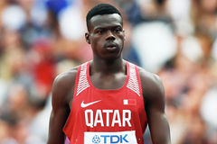 Abdalelah Haroun in the 400m at the IAAF World Championships London 2017 (Getty Images)