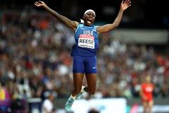 Brittney Reese at the IAAF World Championships London 2017 (Getty Images)