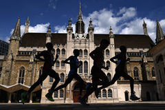 Men's marathon through the streets of London (Getty Images)