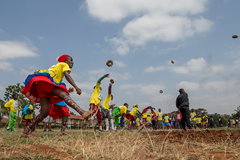 The IAAF Kids Athletics event in Nairobi (Getty Images)