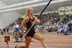 Lisa Gunnarsson competing for Virginia Tech (Virginia Tech)