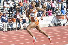Courtney Okolo at the Texas Relays (University of Texas)
